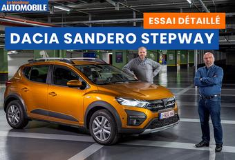 Le Moniteur Automobile a testé la nouvelle Dacia Sandero dans sa variante aventurière Stepway. Regardez notre essai vidéo de cette cousine économique de Renault en mode SUV.