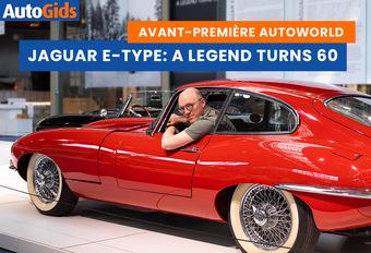 AutoWorld Brussels viert 60 jaar Jaguar E-Type. Wij zijn al een kijkje gaan nemen: bekijk de video!