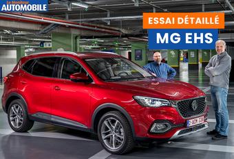 La gamme européenne de MG se développe rapidement. Le ZS, électrique, a été rejoint par l'EHS hybride rechargeable. Ce dernier peut-il se démarquer de la forte concurrence parmi les SUV ? Découvrez-le dans la vidéo !