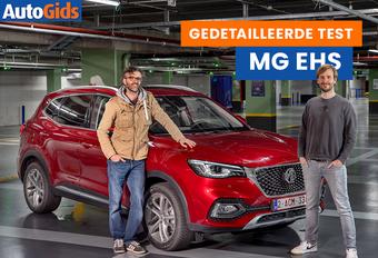 Het Europese gamma van MG zwelt razendsnel aan. Zo heeft de elektrische ZS het gezelschap gekregen van de plug-inhybride EHS. Kan die zich onderscheiden van de sterke SUV-concurrentie? Bekijk de video!