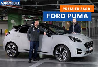 Le Moniteur Automobile a testé le nouveau Ford Puma. Découvrez notre reportage !
