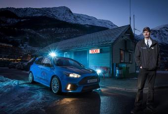Evald Jastad is een  taxichauffer. Hij werk in het Noorse Odda. En hij rijdt met een Ford Focus RS.