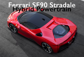 De Ferrari SF90 Stradale combineert een V8-biturbo met 3 elektromotoren, goed voor een systeemvermogen van 1.000 pk. Maar hoe werkt die hybride aandrijflijn, eigenlijk? Bekijk de video!
