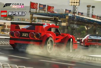 Vanaf vandaag breidt de racegame Forza Horizon 4 uit met een nieuwe wereld, waarin je kan knallen met Lego Speed Champions zoals de Ferrari F40 en de McLaren Senna. Bekijk de trailer!