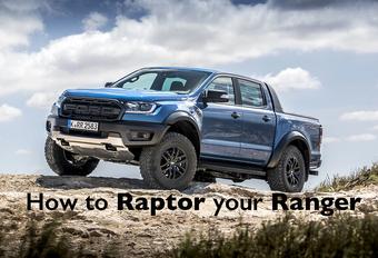 Na de F-150 geeft Ford Performance nu ook de Ranger een Raptor-behandeling, waardoor dit noeste werkpaard in een kwieke woestijnvos verandert. Hoe doen ze dat?