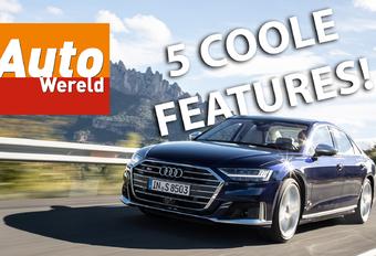 AutoWereld-tester Yeelen gaat op zoek naar de 5 coolste features van de door een 571 pk en 800 Nm sterke V8-biturbo aangedreven Audi S8. Bekijk de video!