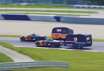 Red Bull-rijder Max Verstappen mag dan een halve Belg zijn, hij is ook een halve Nederlander. En dan is een caravan nooit veraf. In dit amusante filmpje neemt de nog steeds piepjonge F1-piloot het op tegen zijn teammakker Daniel Ricciardo.
