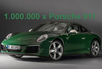 Porsche heeft de kaap van 1 miljoen verkochte 911's genomen. En dat succes vatten ze samen in een video van 1 minuut.