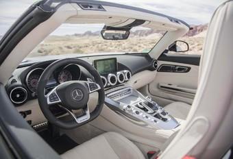 À bord de la nouvelle Mercedes AMG GT C Roadster #1