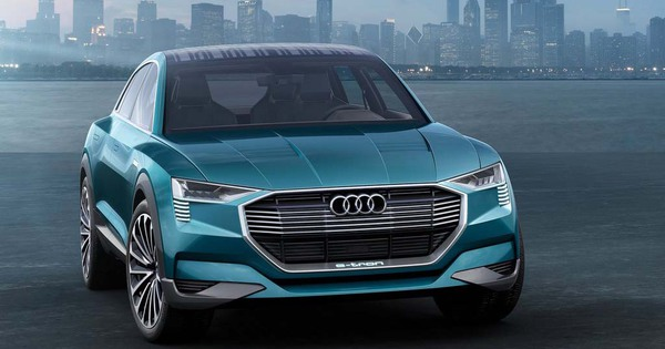 audi q6 e tron forest moniteur automobile. Black Bedroom Furniture Sets. Home Design Ideas