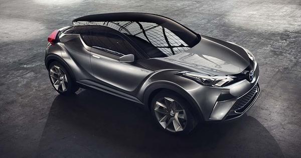 toyota c hr concept 2015 moniteur automobile. Black Bedroom Furniture Sets. Home Design Ideas