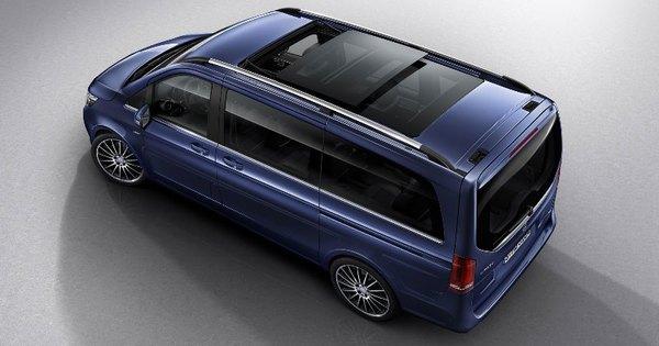 Mercedes V Klasse Exclusive Luxueuze Bestelwagen Autogids