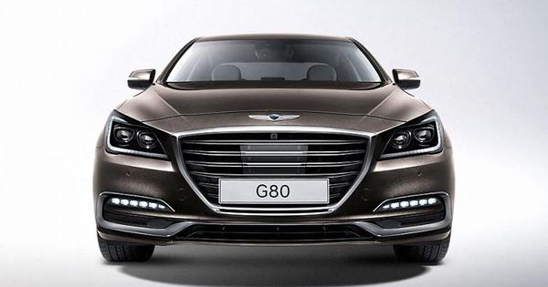Hyundai Genesis Wordt Genesis G80 Autowereld