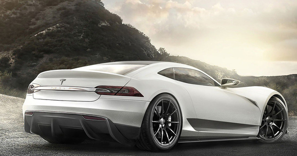 Tesla Model R Concept Autowereld