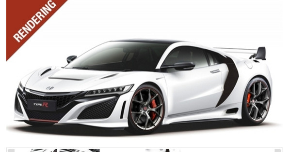 honda nsx r met of zonder spoiler autogids. Black Bedroom Furniture Sets. Home Design Ideas