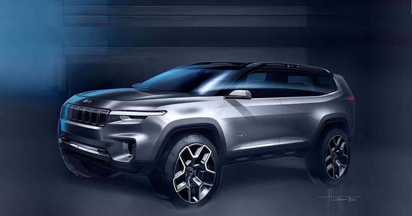 Jeep Yuntu Phev Shanghai 2017 Autowereld