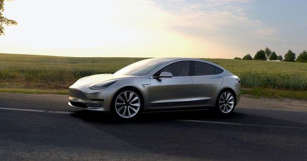 Fotos Tesla Model 3 Startschot Autogids