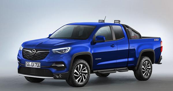 Opel Colorado Pick Up Truck Autowereld