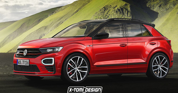 Wat Als Volkswagen T Roc Gti Suv Autowereld
