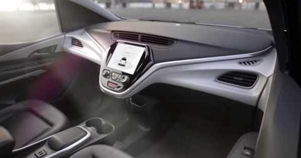 Gm Cruise Av Autonome Auto Zonder Stuur Of Pedalen Voor