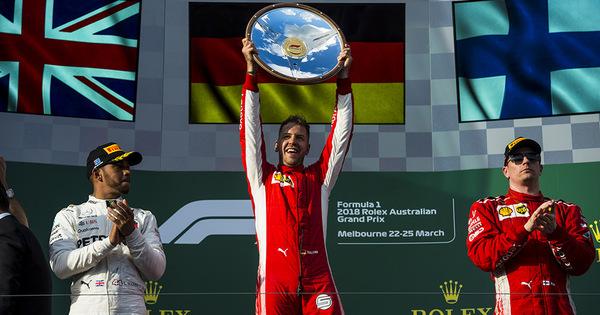GP Australië: Vettel wint, Formule 1 verliest (een beetje) - AutoWereld