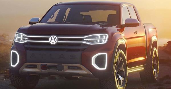 Nyias 2018 Volkswagen Atlas Tanoak Amerikaanse Amarok