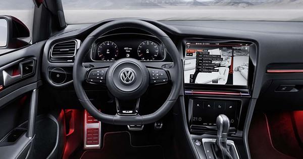 Volkswagen Golf 8 Met Interieur Van R Touch Concept