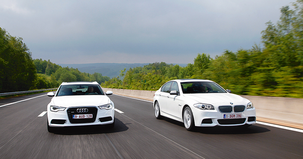 Test Audi A6 Biturbo Tdi Vs Bmw M550d Autogids