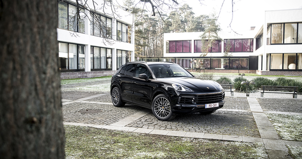 essai porsche cayenne s 2018 moniteur automobile. Black Bedroom Furniture Sets. Home Design Ideas