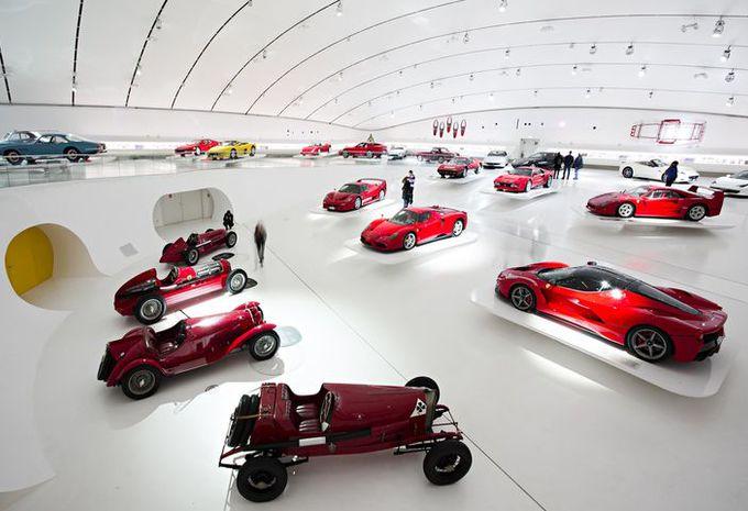 musées automobiles : museo enzo ferrari (modène) - moniteur automobile