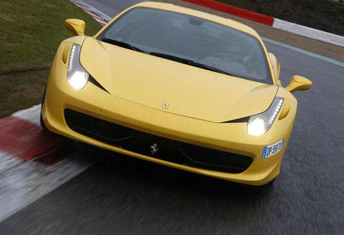 FERRARI 458 ITALIA (2011) - Circuittest #1