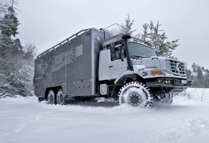 Mongool Mercedes Zetros 6x6 Expedition Autowereld