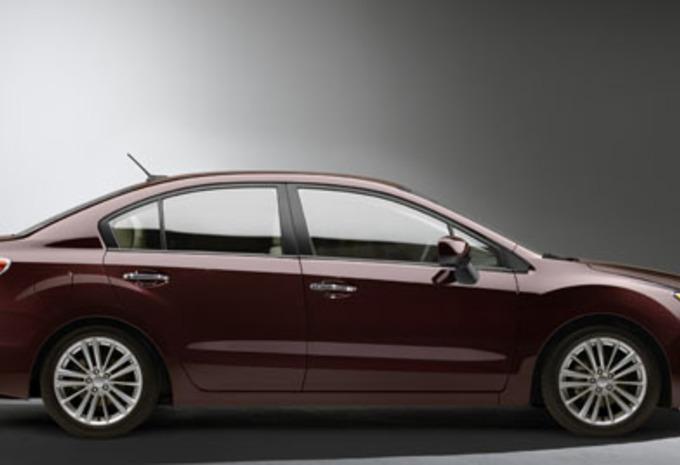KLAAR VOOR DE SHOWROOM: Subaru Impreza #1