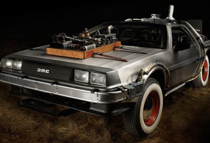 TE KOOP: DeLorean uit 'Back to the Future' #1