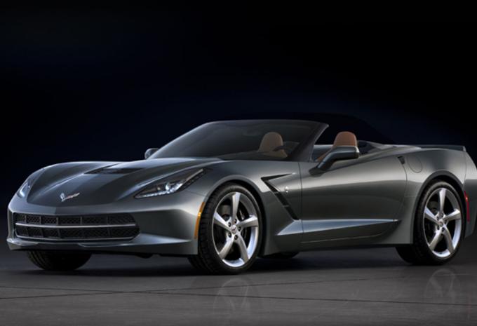 OOK ZONDER DAK: Chevrolet Corvette Stingray #1