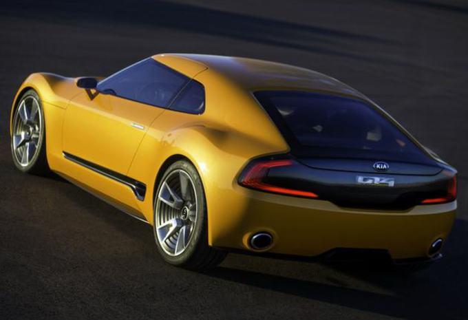 Gaat Kia met deze GT4 Stinger een sportwagen bouwen? #1