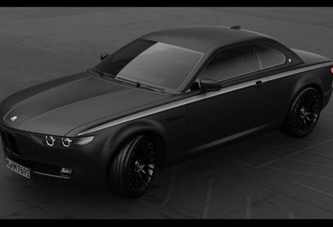 CS Vintage Concept is knap eerbetoon aan de BMW E9 #1