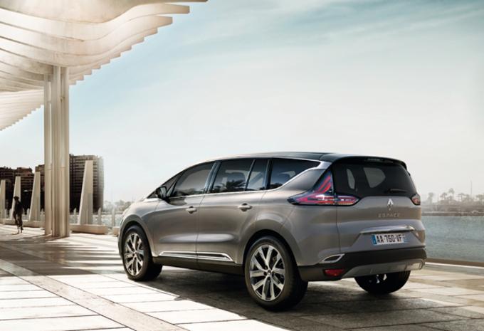 Renault laat zijn nieuwe Espace zien - UPDATE #1