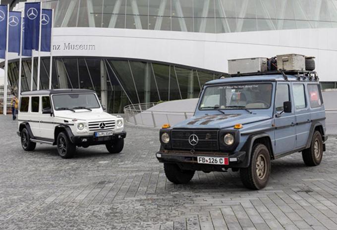 Mercedes viert 35 jaar G-Klasse #1