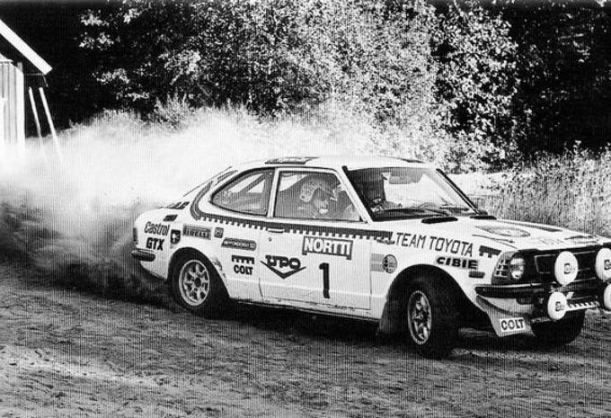 Toyota in de rally, een terugblik #1