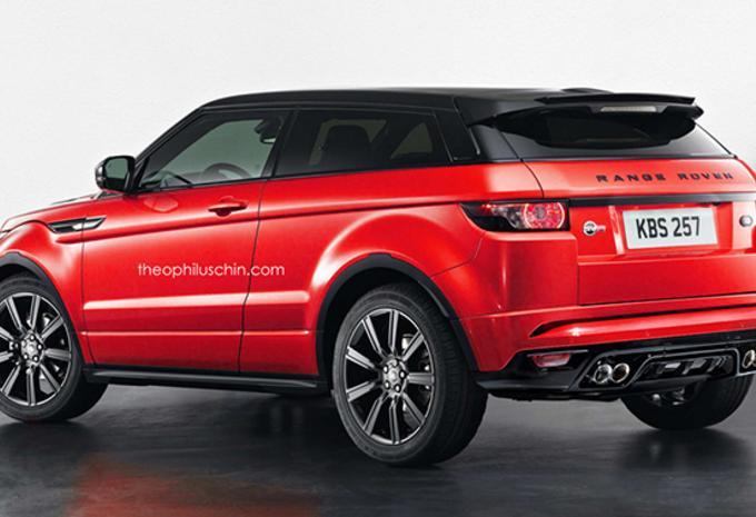 Range Rover Evoque als snelle SVR #1