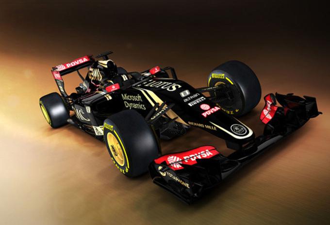 F1 2015: Lotus E23 nu met Mercedes-kracht #1