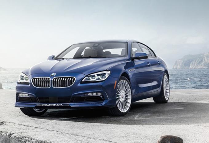 Wat doet Alpina met de BMW 6 Gran Coupé? #1