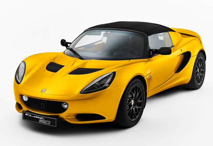 Lotus Elise als speciale 20th Anniversary Edition #1