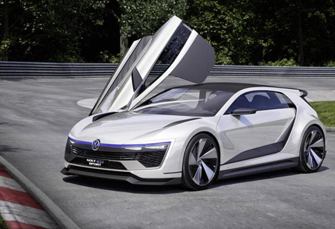 VW Golf als hybride GTE Sport Concept #1