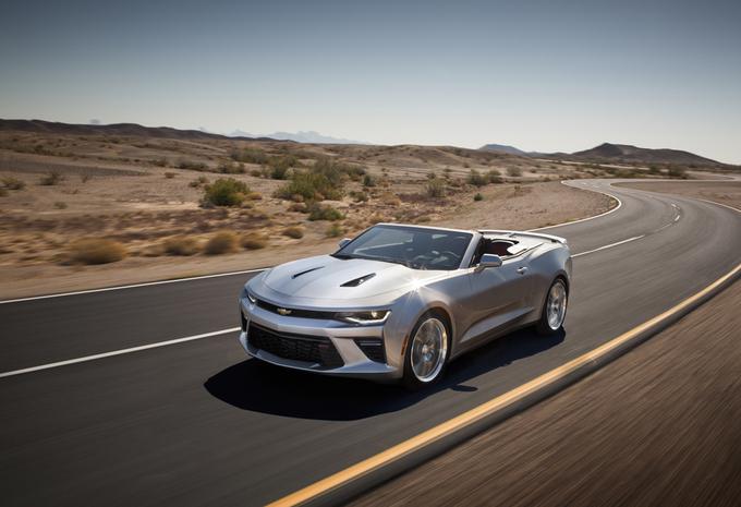 Nieuwe Chevrolet Camaro ook als Convertible #1