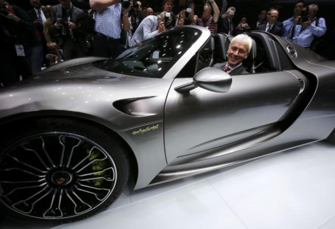 Porsche-topman Müller vervangt Winterkorn als ceo Volkswagen #1