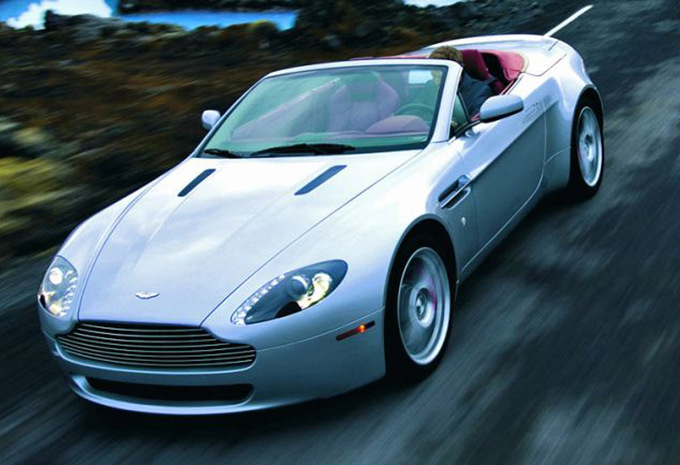 aston martin v8 vantage volante v8 vantage roadster 2007 prix moniteur automobile. Black Bedroom Furniture Sets. Home Design Ideas