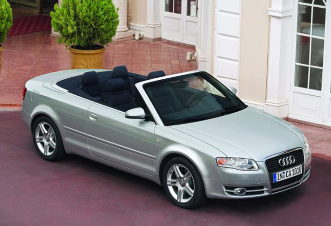 audi a4 cabriolet 2 0 tdi 140 s line 2005 prix moniteur automobile. Black Bedroom Furniture Sets. Home Design Ideas