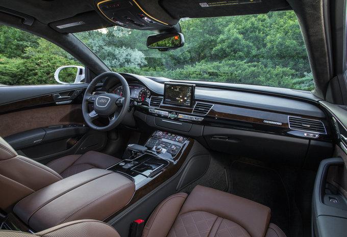 Audi a8 50 tdi quattro 2018 prix moniteur automobile for Interieur q5